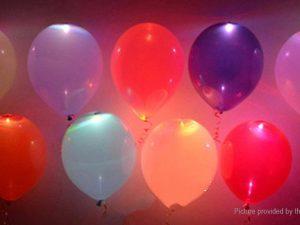 OU - BALLOONS LED
