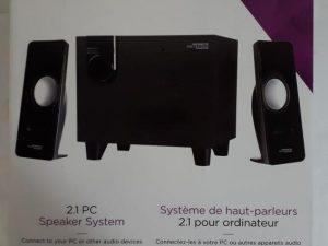 Nexxtech 2.1 PC Speaker System