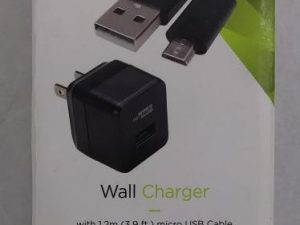 Nexxtech Wall Charger w 3.9 Foot Micro USB Cable